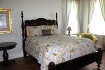 Beautiful Master Bedroom with a queen size bed and its own private bathroom and a Plasma TV